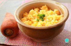 Aprende a preparar Arroz con zanahoria y cebolla con esta rica y fácil receta. Hoy vamos a cocinar un rico arroz blanco con zanahoria. Pollo Guisado, Risotto, Side Dishes, Ethnic Recipes, Food, Fried Fish, Soup Bowls, Cooking Recipes, Essen