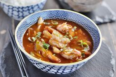 Sichuan Prawns . Easy to make and delicious http://www.mykitchentreasures.com/2014/03/sichuan-prawns.html