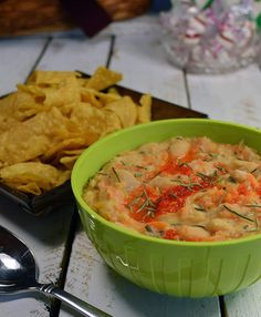 White Bean and Garlic Dip is a refreshing new take on bean dip that leaves everyone asking for more. It is also vegan, paleo and gluten free.