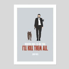 John Wick 2 Keanu Reeves Movie Retro Action Film Art Poster Minimal Print Room 2 in Art, Posters, Contemporary (1980-Now) | eBay!