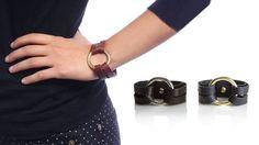 Leather O Ring Bracelets