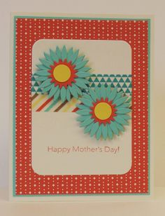 Project Life framelit dies and Washi Tape, Mother's Day, SU