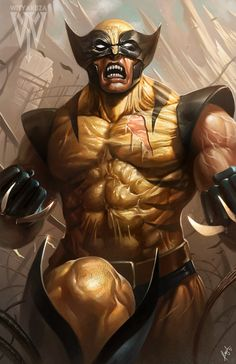 Wolverine by wizyakuza.deviantart.com on @DeviantArt #wolverineWednesday