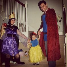 Evil Queen, Snow White and Prince Charming | Halloween 2012