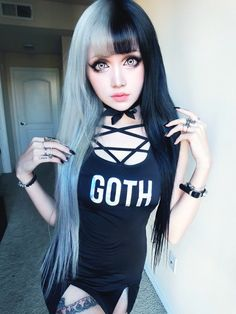 KinaShen lovely #Goth girl