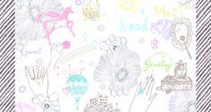 #animal #frame #枠 #動物 #広告 #花 #flower #デザイン #お洒落 #可愛い #線画 #コラージュ #collage #illustration #kanakobayashi #art #illust #pastelcolor