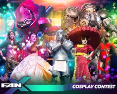 Registration for the #FANX17 #Cosplay Contest is now live. Admission included with your valid wristband! Click image for more info! #utah