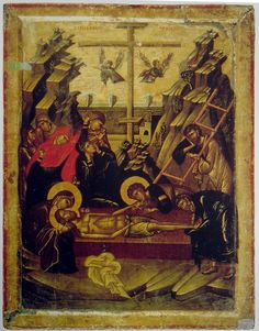 Byzantine icons of Sinai - Icons - Gallery - Web gallery of art Web Gallery Of Art, Russian Icons, Religious Paintings, Byzantine Icons, Hagia Sophia, Beautiful Nature Wallpaper, Last Supper, Icon Collection, Religious Icons