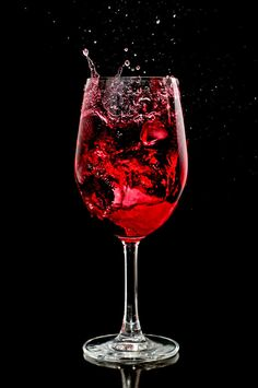 Chaos - Wine Glass Splash by ShogunMaki
