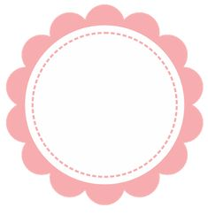 Cake Logo Design, Diy And Crafts, Paper Crafts, Logo Cookies, Baby Frame, Flower Frame, Sticker Design, Projects To Try, Creations