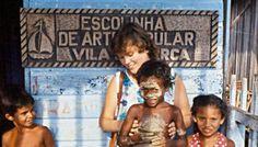 Entwicklungshelferin in Brasilien. Foto: Archiv
