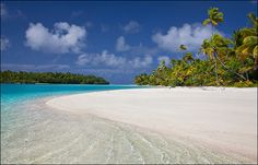 One Foot Island, Cook Islands is my all time fav beach.