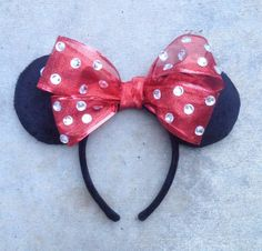 Classic Minnie Inspired Mouse Ears