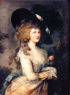 Lady Georgiana Spencer by Thomas Gainsborough