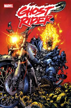 Trapped in hell with the Spirit of Vengeance bonded to their soul Johnny Blaze and Danny Ketch becomes Ghost Rider and adventures through hellfire.