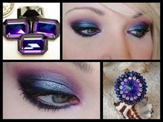 Swarovski Crystals Inspiration make up by Monica