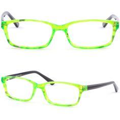 Thin Light Acetate Frame Men Womens Frames Prescription Glasses Sunglasses Green #Unbranded