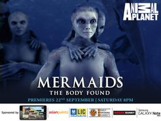 Mermaids: The Body Found Premiers on Animal Planet | Indiamatic : DTH , Telecom & Technology Discussion Forum. PROOF that mermaids are real! I told you!