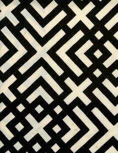 luli sanchez  (idea...leave the white part and use different material on each black part)