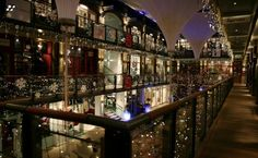 Kingly Court, W1 - especially at Christmas