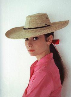 #AudreyHepburn, 1959, Durango, México.
