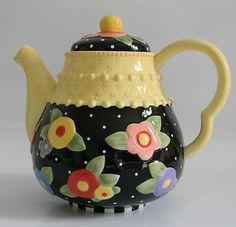 Tea Blossoms Teapot 2001