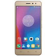 Lenovo K6 smarttelefon 16 GB dual sim (gull)