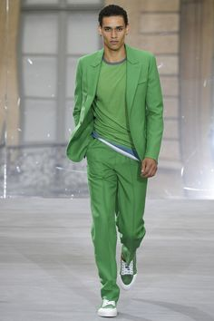 Berluti , Spring/Summer 16 This colour is great