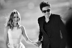 Emily Blunt con Benicio del Toro