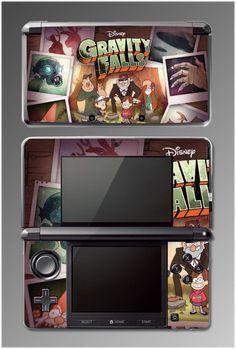 Gravity Falls Grunkle Stan Mystery Shack Video Game SKIN Cover Nintendo 3DS #UnbrandedGeneric