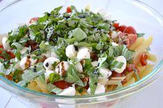 Caprese Pasta Salad - Mother Thyme