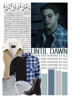 """Until Dawn;Josh (character inspiration)"" by kwiatekmarek ❤ liked on Polyvore featuring moda, LE3NO, Levi's, 21 Men, Abercrombie & Fitch, Accessorize, Charlotte Russe, Inspired, inspiration y videogame"