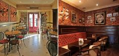 The 10 most beautiful cafés in Lisbon - via Lisbon Lux Magazine   Photo: Chá da Lapa, Lisboa #Portugal