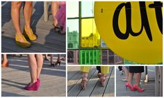 #altNYC by Raincoast Cottage - Those are my bright pink shoes on the bottom right! #altpins