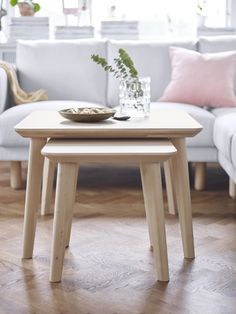ikea lisabo in two sizes for coffee table