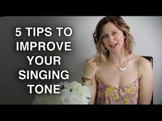 5 Tips to Improve Your Singing Tone - Felicia Ricci - YouTube. Pretty great, except she identifies the pharynx as being part of the nasal cavity and sinus resonators. Her five points are spot on, though.