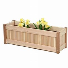 DIY pallet and wood planter box ideas don't have to be predictable. Discover the best designs that will give your deck a touch of style in DIY planter box designs, plans, ideas for vegetables and flowers Deck Planter Boxes, Planter Box Designs, Planter Box Plans, Cedar Planter Box, Deck Planters, Wood Planter Box, Window Planter Boxes, Wooden Planters, Garden Boxes