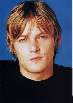 Sun in your eye, Norman? Sorry I like it. | The 23 Sexiest Pictures Of A Young NormanReedus