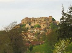 Cordes sur ciel, France.  I keep finding more cool places connected with the Counts of Toulouse and the Cathars.