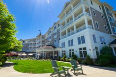 Watkins Glen Harbor Hotel, the choice for luxury Finger Lakes hotels on the south end of Seneca Lake. Watkins Glen Harbor Hotel, Watkins Glen New York, Lake Hotel, Seneca Lake, In Plan, Wine Country, Exterior, Vacation, Mansions