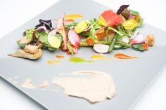 fine dining salad - Google Search