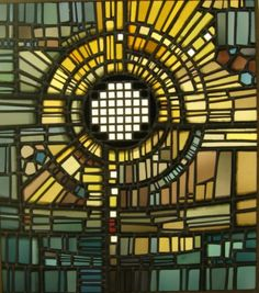 church stainglass | icelandic stained glass by gerður helgadottir