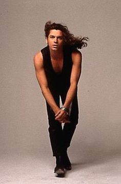michael hutchence with long hair - Google Search