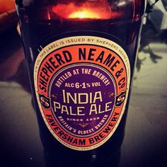 #indiapaleale #ipa #shepherdneame&co #faversham #brewery #törkeen #hyvää so #good #beer | From shimppu