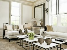 White color, in the living room.