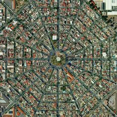 Cd. de México vista desde el aire..