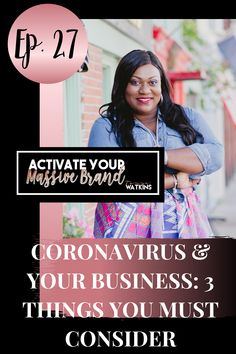 Ep 27: In this episode, Tanya discusses how to navigate being a high ticket service based business owner during the Coronavirus (COVID-19) pandemic. We discuss pivoting your business model, selling and maintaining profitability during a global crisis, and the rise of the true leaders in this situation. Brand Expert, Seo Optimization, Today Episode, Creating A Brand, Sales And Marketing, Personal Branding, Online Business, How To Become, How To Apply