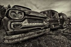 abandoned cars by Axel Hahn on 500px