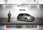 Nissan cria showroom virtual inteiramente dentro do YouTube