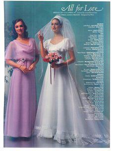 Vintage Wedding Photos, Vintage Weddings, Vintage Bridal, 1980s Wedding Dress, Wedding Gowns, Vintage Clothing, Vintage Dresses, Vintage Outfits, Frock Design